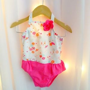 Janie and Jack Pink 18-24 Months Swimsuit